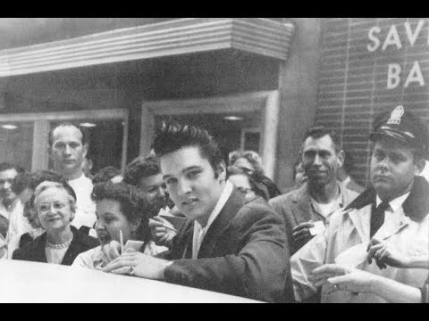 Elvis Presley Ran Out Of Gas Here December 11 1956 Mobbed by Fans The Spa Guy