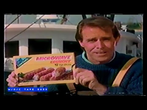 Gorton's Microwave Fish Sticks Commercial - 1988