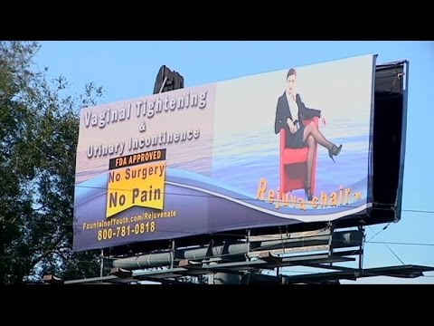 "Florida mom: ""Vaginal Tightening"" billboard offensive"