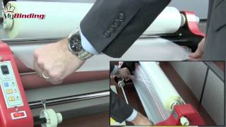 How To Set up the MY2700L Roll Laminator