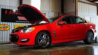 Hennessey Supercharged Chevrolet SS Chassis Dyno Testing