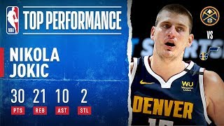 Jokic GOES OFF For Triple-Double!