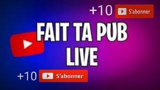 LIVE FAIT TA PUB +10