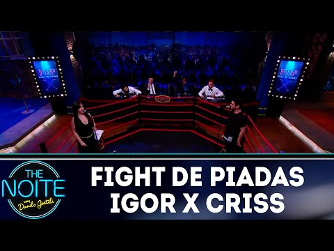 Fight de piadas: Igor Guimarães x Criss Paiva - EP 38  The Noite 071218