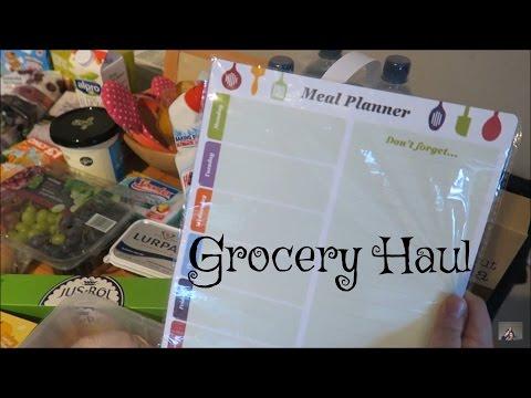 Grocery Haul   OCADO