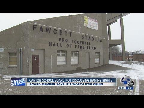 High school stadium naming rights