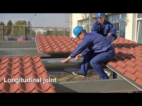 Kingspan Roof TIle - Installation video