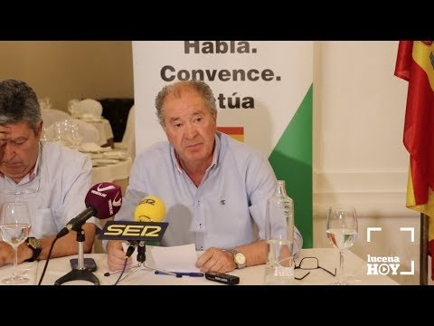 VÍDEO: Presentación de Jesús Gutiérrez como Coordinador de VOX Lucena