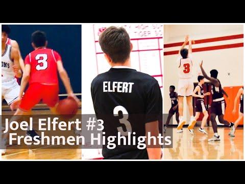 Joel Elfert Freshman Year Basketball Highlights Katy High School