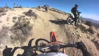 GoPro Mojave Desert riding, ktm 450