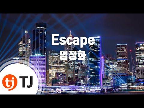 [TJ노래방] Escape - 엄정화 / TJ Karaoke