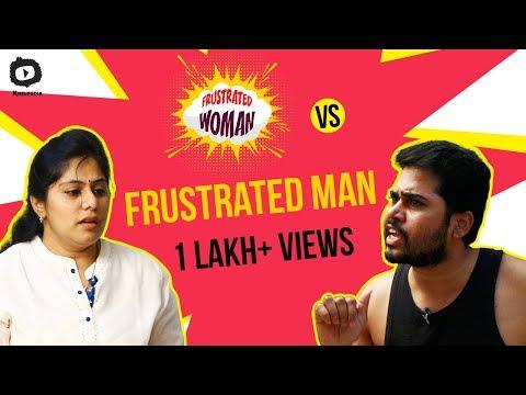 FRUSTRATED WOMAN Vs FRUSTRATED MAN | Frustrated Woman Telugu Comedy Web Series | Sunaina | Khelpedia Mp3