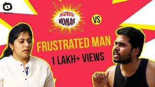 FRUSTRATED WOMAN Vs FRUSTRATED MAN | Frustrated Woman Telugu Comedy Web Series | Sunaina | Khelpedia