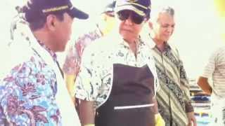Panen Ikan Kerapu oleh Menteri Kelautan dan Perikanan