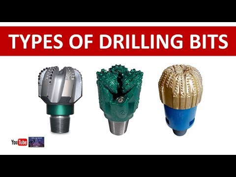 Types Of Drill Bits Used At Oil And Gas Drilling Rig | Urdu Hindi