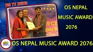 OS NEPAL MUSIC AWARD 2076 Awards Nominees