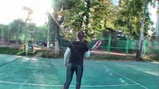 Теннис. Учебное видео. Основы техники. Часть 4
