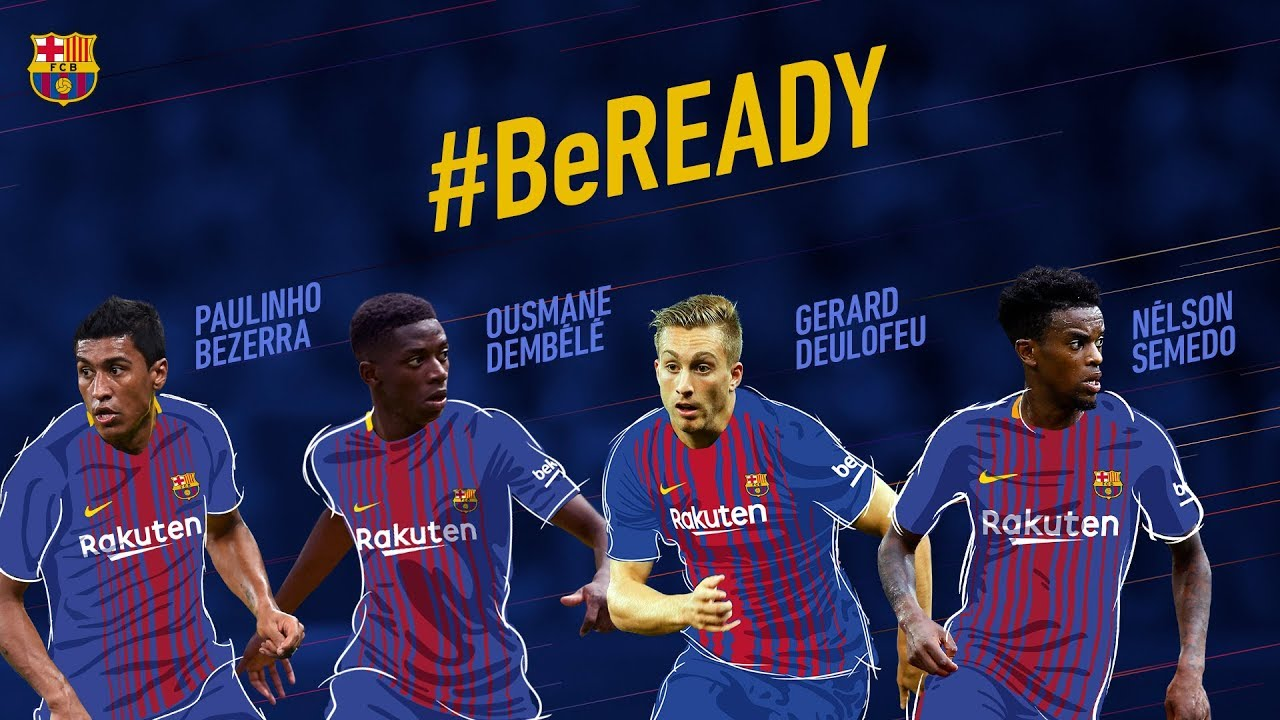 Fc Barcelona S Summer Signings Are Ready For The 2017 18 Season