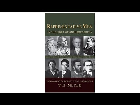 "Interview with T H Meyer on his book ""Representative Men In the Light of Anthroposophy"""