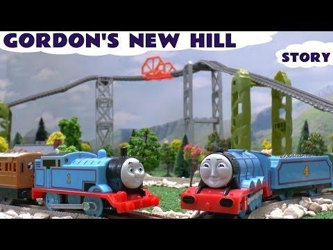 Thomas & Friends Story New Trackmaster Track Gordon's Hill Thomas Accident Crash Toy Train