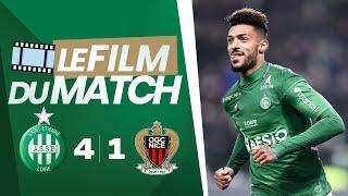 ASSE 4-1 Nice : le film du match