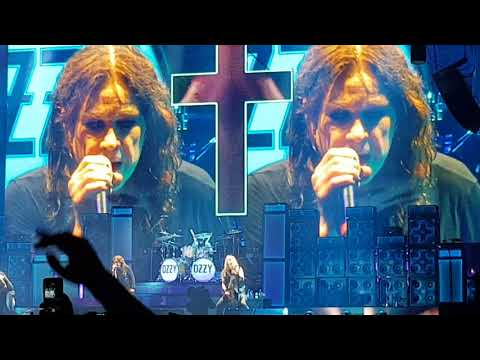 Ozzy Osbourne Mama I'm Coming Home @ Allianz Parque Sao Paulo SP 13 Mai 2018