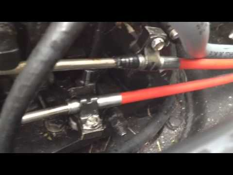 Force Outboard linkage YouTube