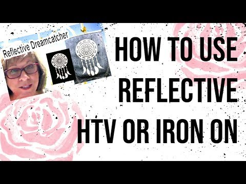 How to Cut and Use REFLECTIVE HTV with the Silhouette