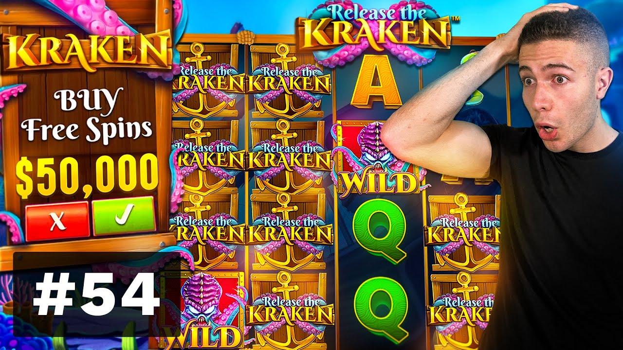 $50000 BONUS BUY on Release the Kraken, WILDS on Feline Fury! - AyeZee Stream Highlights #54