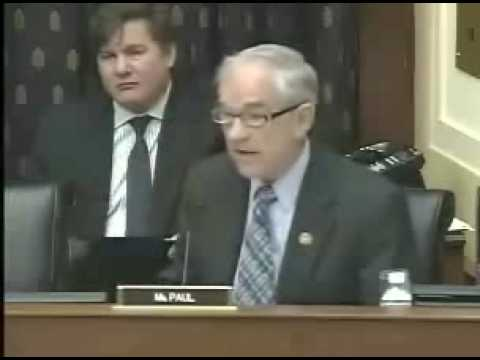 Ron Paul on The Unconstitutional War Powers Act and an Agitated James Baker