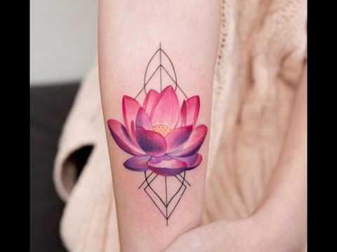 Tatuaje De Flor De Loto Youtube