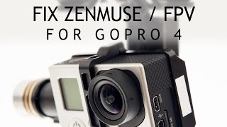 #27 DJI Phantom Tutorial - Use FPV with GoPro 4! Modificate your Gimbal!