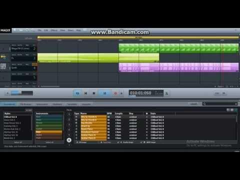 Magix Music Maker -20 seconds- Commercials music Dubstep, techno