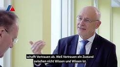 BaFin Präsident Felix Hufeld zu Bankenkrise, Regulierung und Niedrigzinsen. Karch fragt nach.