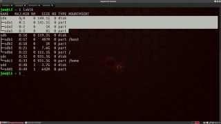 Linux Terminal: Formating a USB drive & 'burning' an iso image