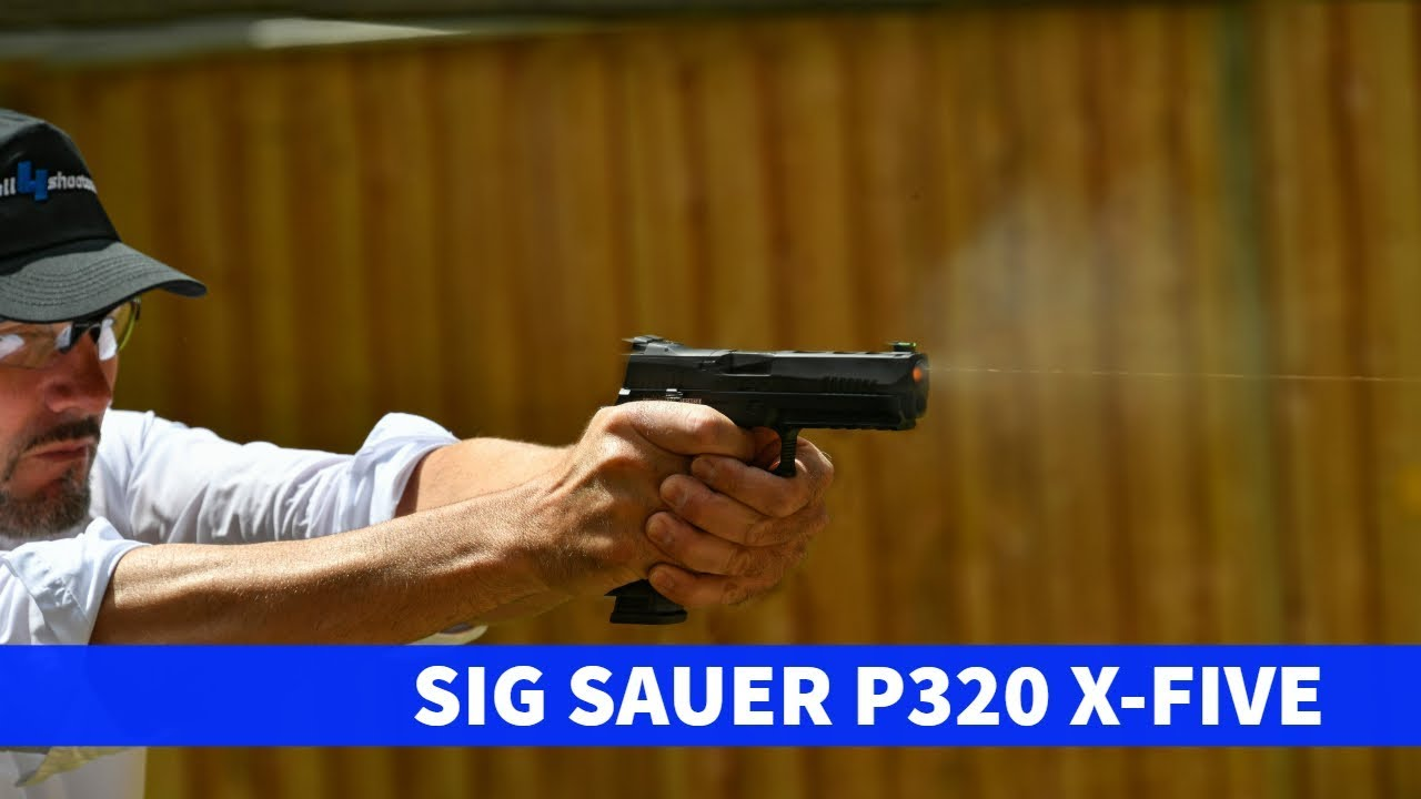 SIG Sauer P320 X-Five pistol: Test + Video - all4shooters