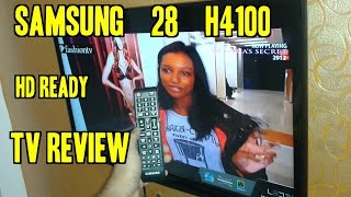 Samsung 28 H4100 71 cm (28) LED TV (HD Ready) REVIEW | Indian Consumer