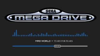 Tears for Fears - Mad World Instrumental | SEGA Chiptune Remix