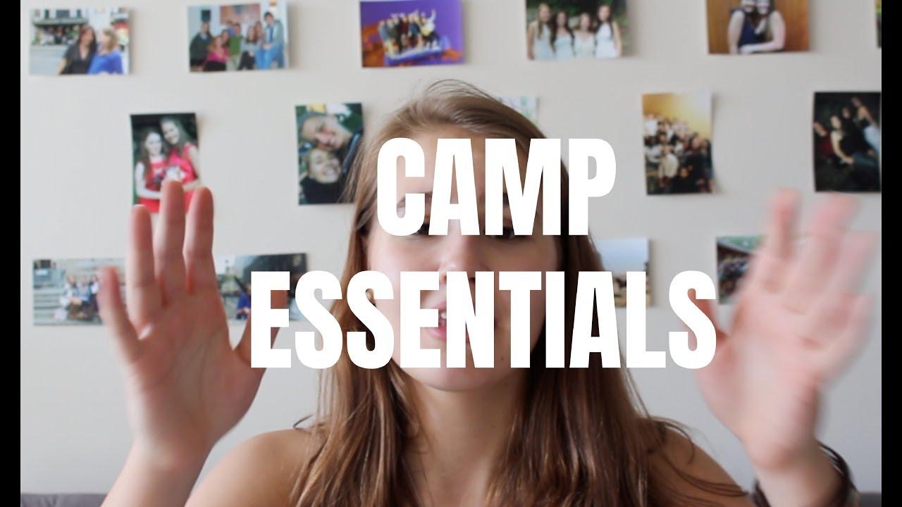 SUMMER CAMP ESSENTIALS - YouTube