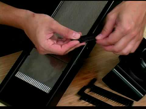 Cooking Tips : How To Use A Mandolin Slicer