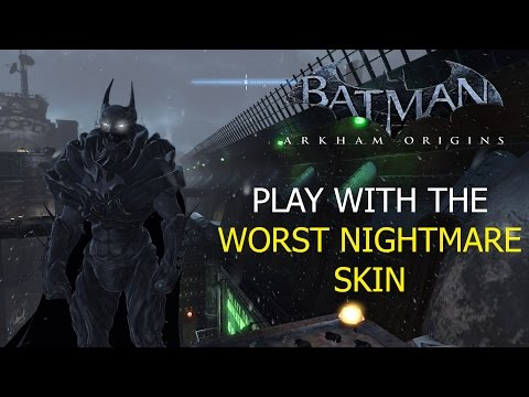 Batman Arkham Knight: Batman Unmasking with DLC Skins P ...