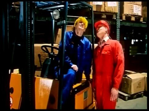Fork Lift Driver Klause - English Dub