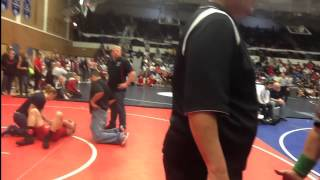 Flagrant Misconduct wrestling match