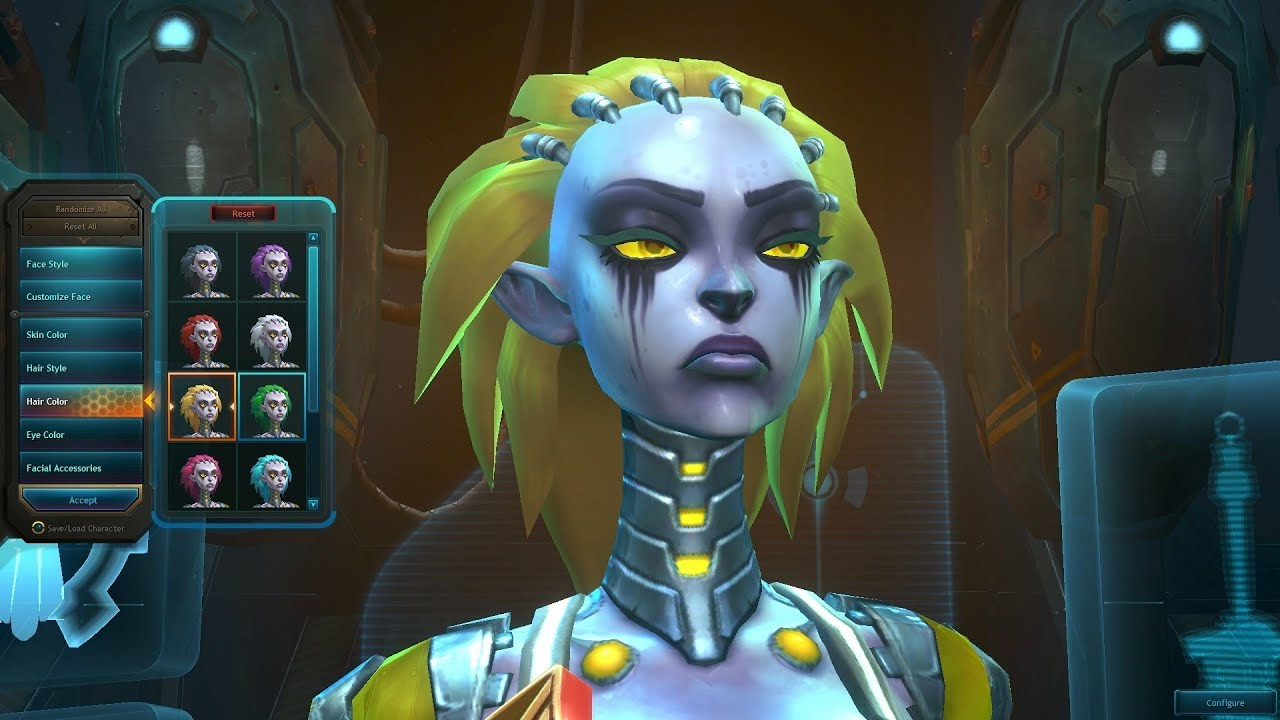 Wildstar: Exiles - Female Mordesh Character Creation ...