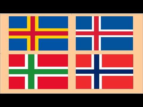 Flags Almost Identical - Part 2 : Countries And Regions