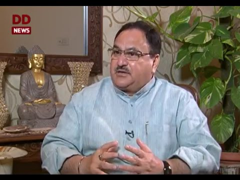 Interview of Union Health Minister J.P.Nadda with Doordarshan -25 April 2017