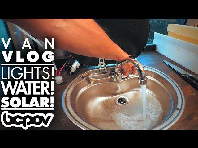 IT'S STARTING TO LOOK LIKE A CAMPER VAN! | Camper Van Vlog #4