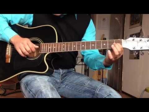 Chasing Cars von Snow Patrol auf der Gitarre / Anleitung