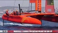 Marseille : à bord d'un bateau volant du Sail GP