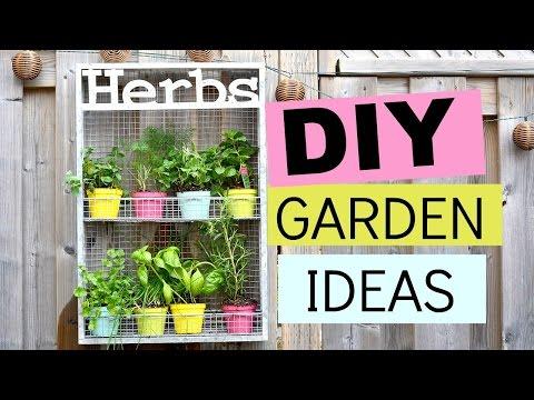 DIY Garden Ideas, Project & Decor | Nelle Creations